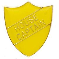 ShieldBadge House Captain Yellow</br>SB015Y